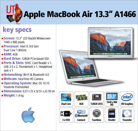 This Apple MacBook Air doesn\'t cost a fortune and still has a Intel i5 processor, 128GB SSD and a 13.3\