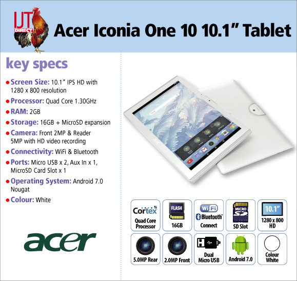 Acer Iconia One 10 10.1\